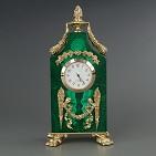 Часы  Травиата  малахит.