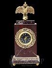 Часы Александр-III мрамор в ассорт. , полировка