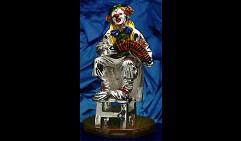 Клоун с гармонью