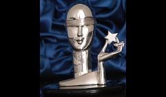 Скульптура «Голова современной Фортуны»