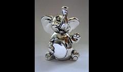 слоник музыкант с бубном