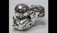 Далматинец c мячом