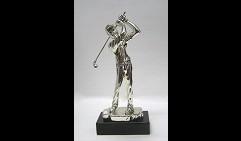 Скульптура Гольфист