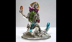 Клоун с морским котиком