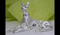 Скульптура Дог арлекин