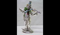 Клоун со скрипкой