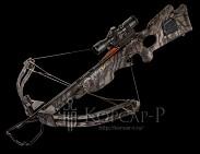 Арбалет Titan HLX, 95 Lbs, 3алюм. стрелы с тренир. након, кивер, кепка, прицел 3xProView, DVD, цвет камуфл, c ножом Kershaw 4351R