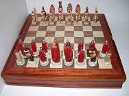 R68155 Шахматные фигуры  Древний Египет  , 8 см