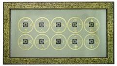 Картина  10 старинных монет
