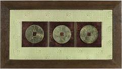 Картина  3 счастливые монетки