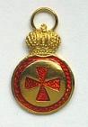 Орден св. Анны 4-ой степени (уменьшенная, для ношения на оружии)