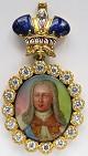 Наградной портрет Имп. Петра III Фёдоровича