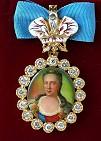 Наградной портрет Имп. Екатерины II Алексеевны