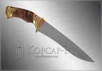 Нож охотничий украшенный