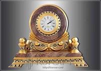 Часы украшенные  ЯШМА