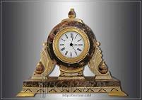 Часы украшенные  ЯШМА-2