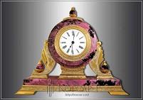 Часы украшенные  ЯШМА-3