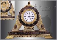 Часы украшенные  ЯШМА-4