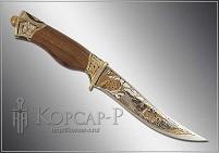 Нож охотничий украшенный  ХИЩНИК  (О-23)
