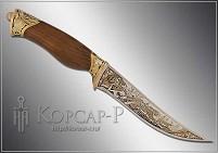 Нож украшенный  ОХОТА  (О-23)