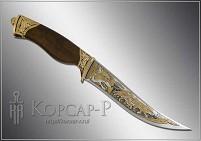 Нож охотничий украшенный  СТАЯ  (О-23)