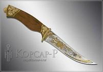 Нож охотничий украшенный  СЕВЕРНЫЙ  (О-23)