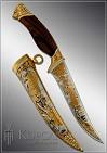 Нож охотничий украшенный  СХВАТКА  (О-23)