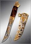 Нож охотничий украшенный  СТАЯ  (О-5)
