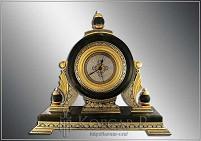 Часы украшенные каминные  НОЧКА