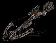Арбалет Defender CLS, 95 Lbs, прицел 3xProView 2, ручной натяжитель AcuDraw50, 6 алюминиевых стрел с тренир. наконечниками, кивер на 4 стрелы быстросъёмный, кепка, ДВД, стикер на стекло, цвет камуфляж Mossy Oak Treestand