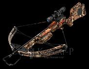 Арбалет Warrior, 95lbs, прицел 3x Multi-Line, кивер на 6 стрел, 3 алюминиевые стрелы, ремень, цвет камуфляж HD Green