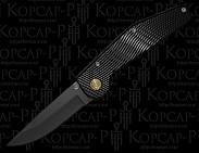 Нож серии GT:: BL-P скл, автоматич, черный
