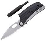 Нож-мульти-инструмент, стальной, скл. , клинок, кусач