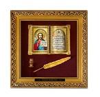 Православное панно Иисус бол. багет