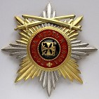 Звезда ордена святого Владимира с верхними мечами