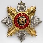 Звезда ордена святого Владимира граненая с мечами