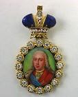Наградной портрет Имп. Петра II Алексеевича