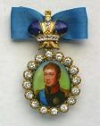 Наградной портрет Имп. Александра I Павловича