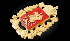 Герб Московской губернии (значок) (3х4)