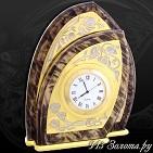 Часы украшенные  Лепесток