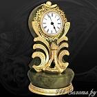 Часы украшенные  Лебедь
