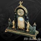 Часы украшенные  Врата