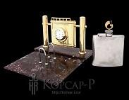 Набор офисный подарочный с фирменной символикой  КАВКАЗТРАНСГАЗ