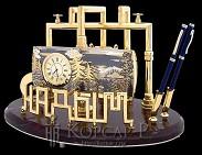 Набор офисный подарочный с фирменной символикой  НАДЫМ