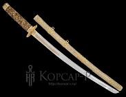 Самурайский меч  Катана  украшенный