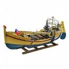 122012 Рыбацкая лодка, 45х20х18 см