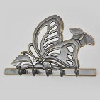 Ключница  Бабочка  антик