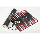 Набор из 3-х игр на магните в тубусе ( шахматы, шашки, нарды)