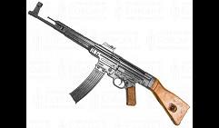 Штурмовая винтовка STG-44, Германия 1943 год 2-я Мировая Война