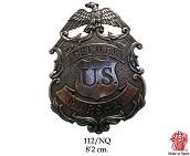 Значок Deputy U. S. Marshal